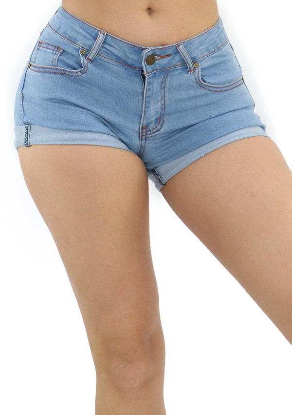 1218 Denim Short by Dear Body - Pompis Stores