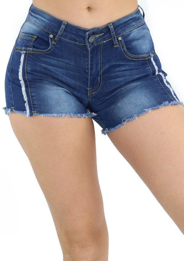 1219 Denim Short by Dear Body