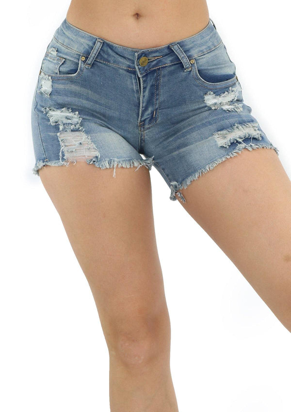 1220 Denim Short by Dear Body - Pompis Stores