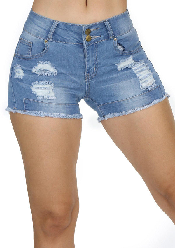 1246 Denim Short by Dear Body - Pompis Stores