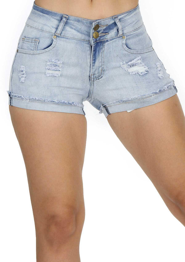 1248 Denim Short by Dear Body - Pompis Stores