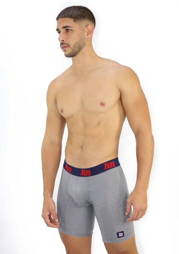 4036 Solids Boxer Brief Extra Long Hybrid by HN