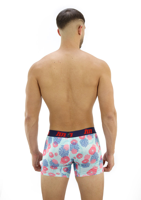 4050 Printed Boxer Brief Long Hybrid by HN