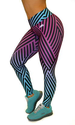 1057 Maripily Activewear Print Leggings