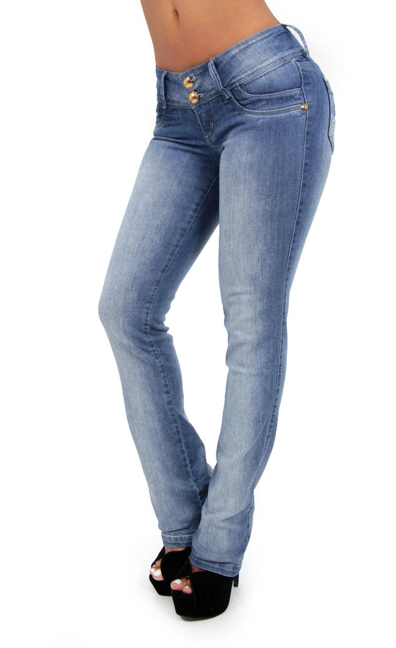 LAST ONE 17283 Boot Cut Maripily Skinny Jean