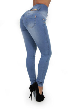 17332 Maripily High Waist Skinny Jean - Pompis Stores