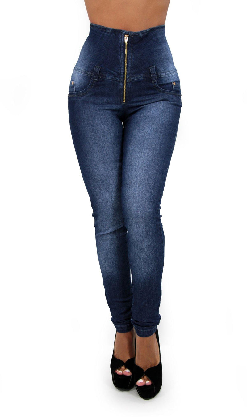 17333 Maripily High Waist Skinny Jean - Pompis Stores