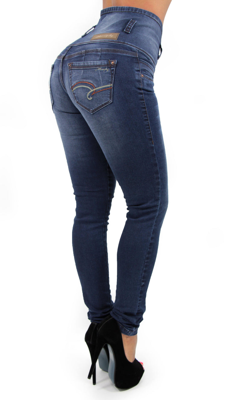 17354 Maripily High Waist Skinny Jean - Pompis Stores