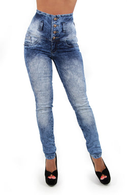17355 High Waisted Maripily Skinny Jean