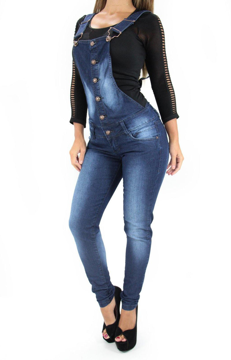 LAST ONE 17362 Maripily Denim Overall