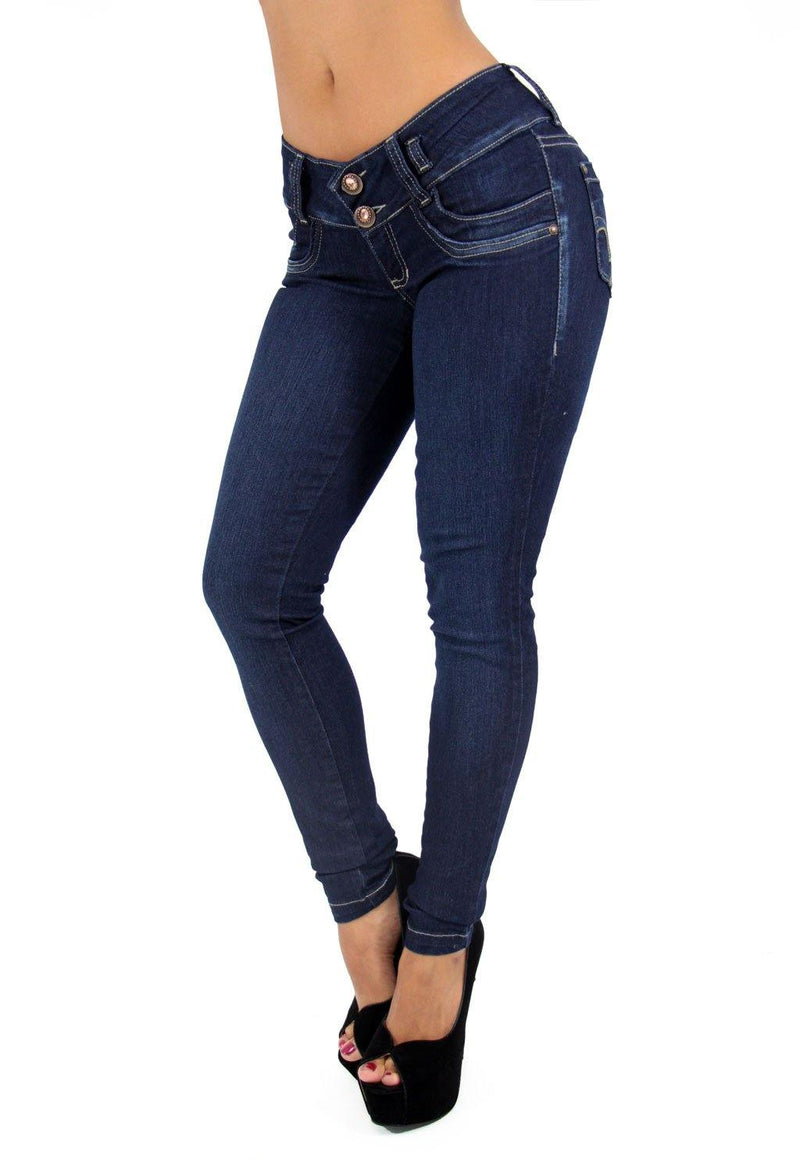 LAST ONE 17376 Maripily Skinny Jean - Pompis Stores
