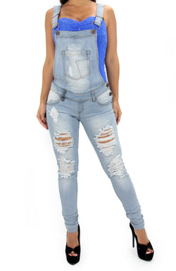 LAST ONE 17389 Maripily Denim Overall