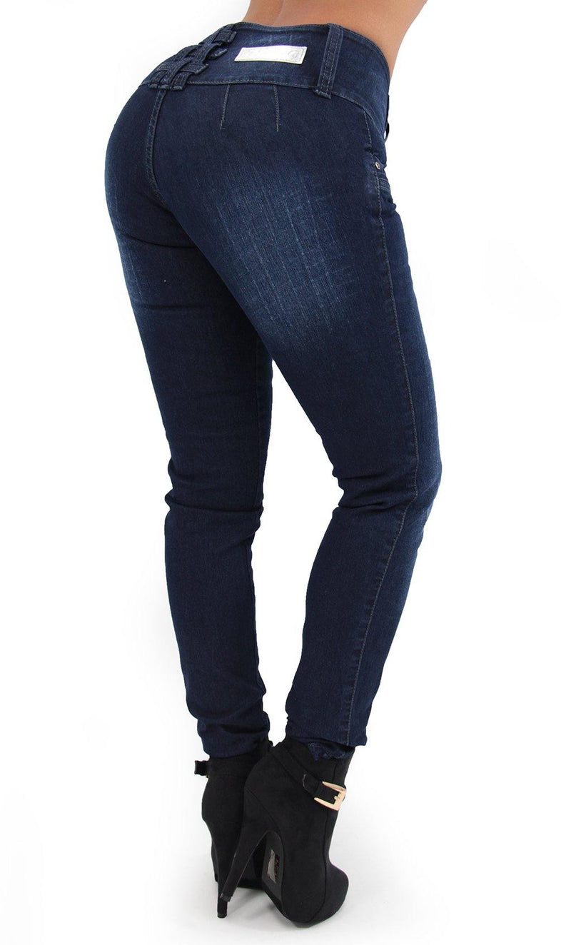 17467 Triple Button Maripily Skinny Jean