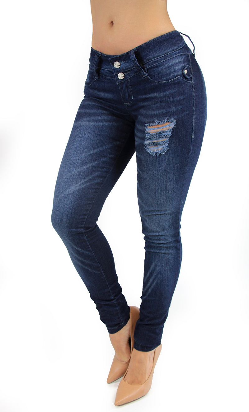 17526 Destroyed Maripily Skinny Jean