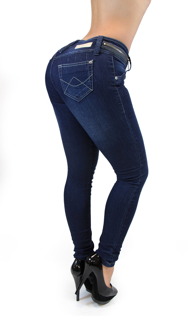 17529 Zippered Maripily Skinny Jean