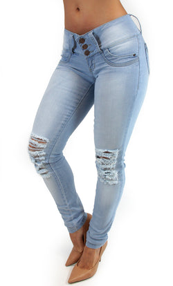 17545 Pre-Wash Light Maripily Skinny Jean