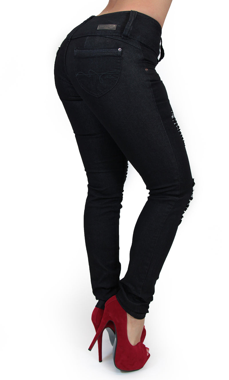 17568 Destroyed Maripily Skinny Jean