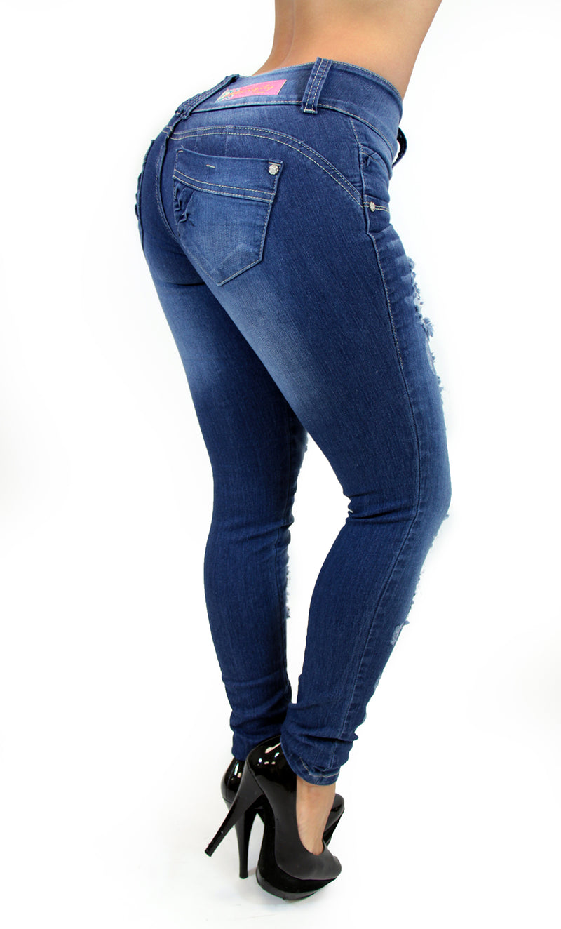 17588 Destroyed Maripily Skinny Jean