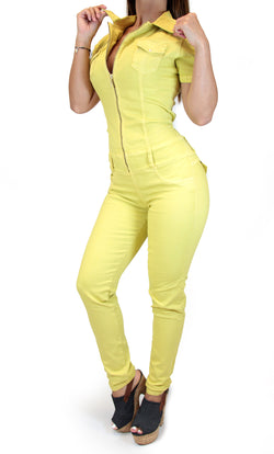 17632 Zippered Maripily Jumpsuit