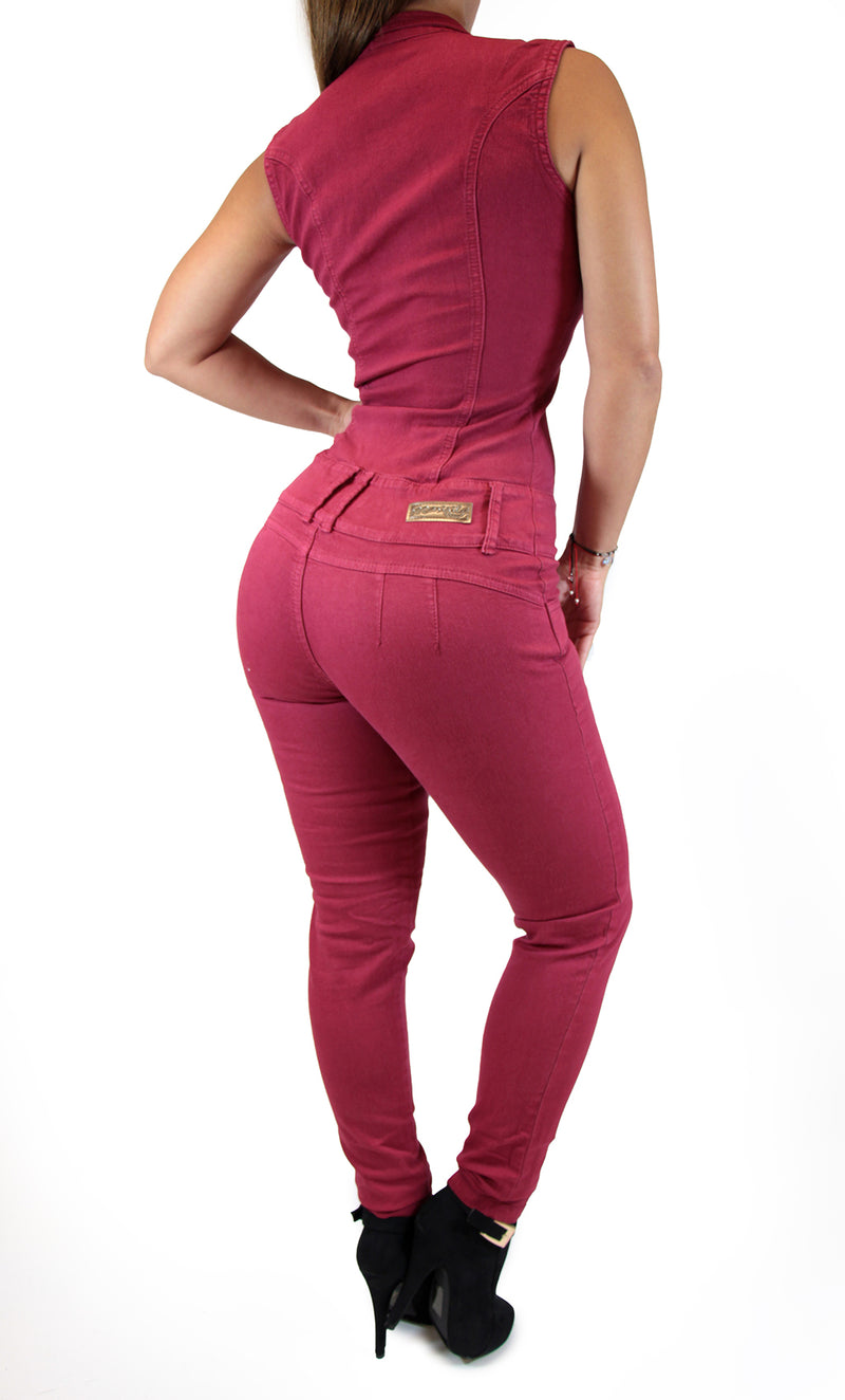 17633 Zippered Maripily Jumpsuit