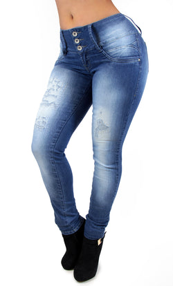 17652 Triple Bottom Maripily Skinny Jean