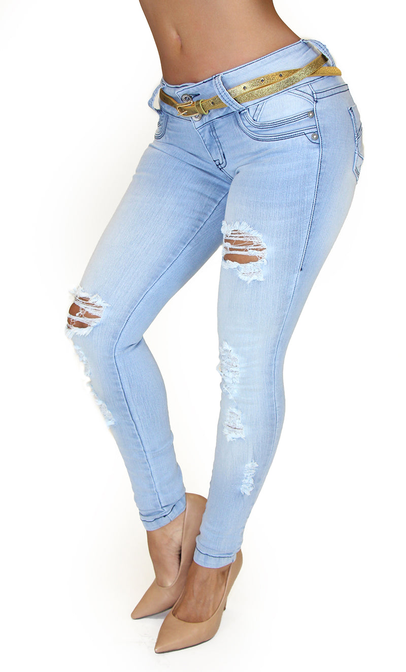 17832 Destroyed Maripily Skinny Jean