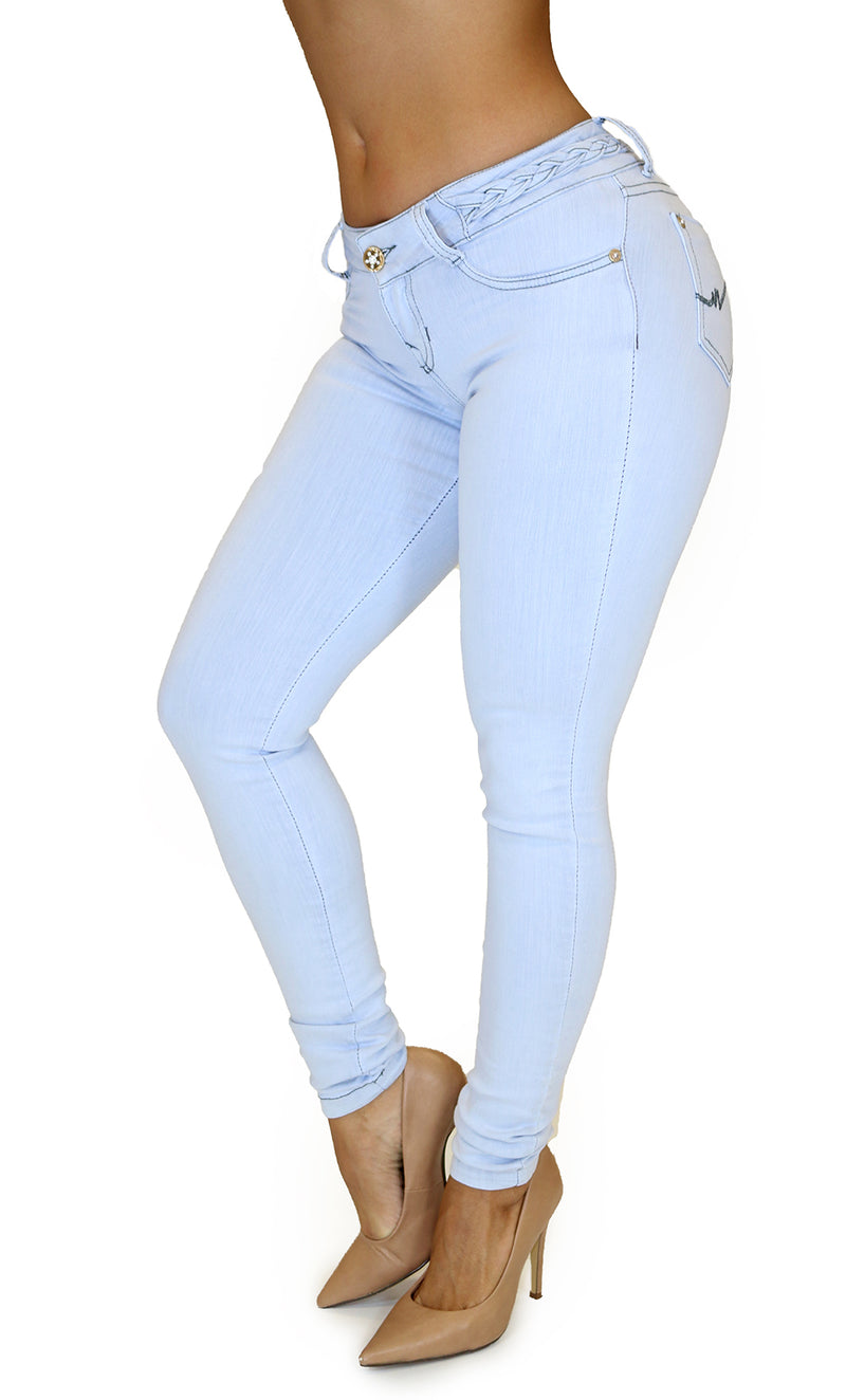 17848 Maripily Light Blue Skinny Jean
