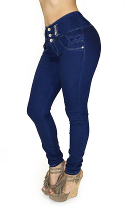 17860 Maripily Triple Button Skinny Jean