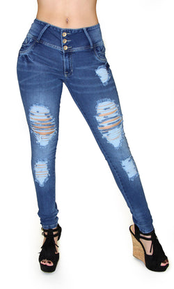17876 Maripily Destroyed Skinny Jean