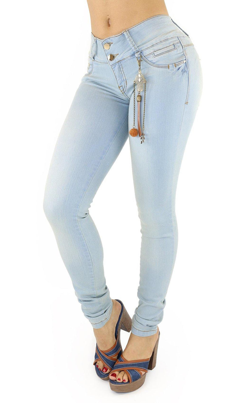 18293 Maripily Women's Butt Lifting Skinny Jean