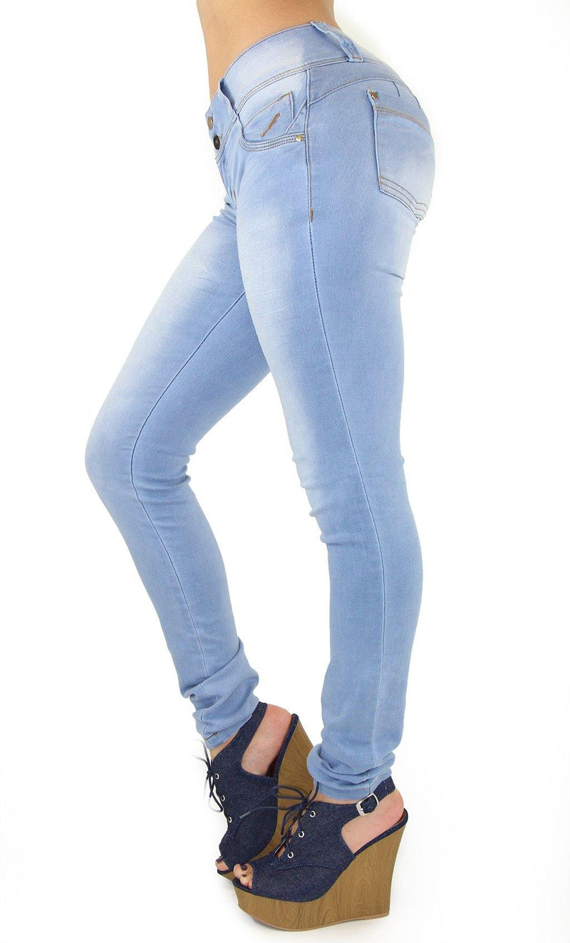 18380 Maripily Women's Butt Lifting Skinny Jean