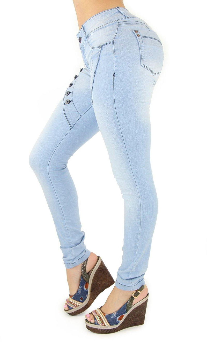 18424 Maripily Women's Butt Lifting Skinny Jean