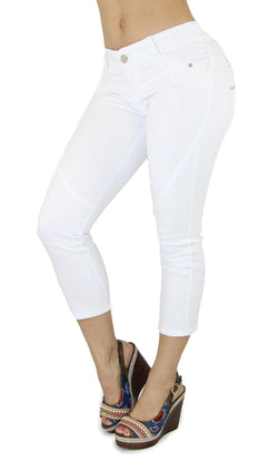 18460 Maripily Women's Capri Denim
