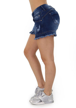 19225 Denim Short by Maripily Rivera
