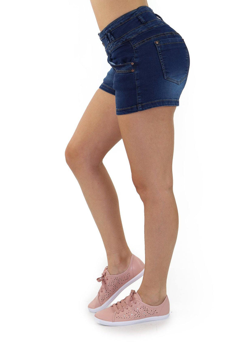 19236 Denim Short by Maripily Rivera