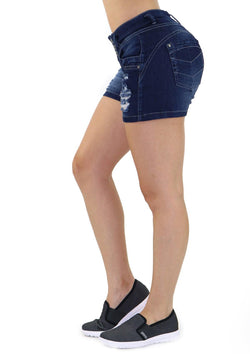 19241 Denim Short by Maripily Rivera