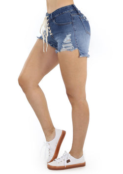 19503 Denim Short by Maripily Rivera