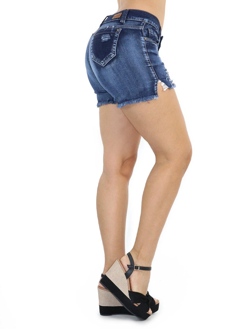 19591 Denim Short by Maripily Rivera