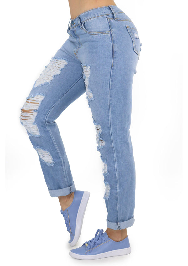 19672 Boyfriend Jean by Maripily Rivera - Pompis Stores