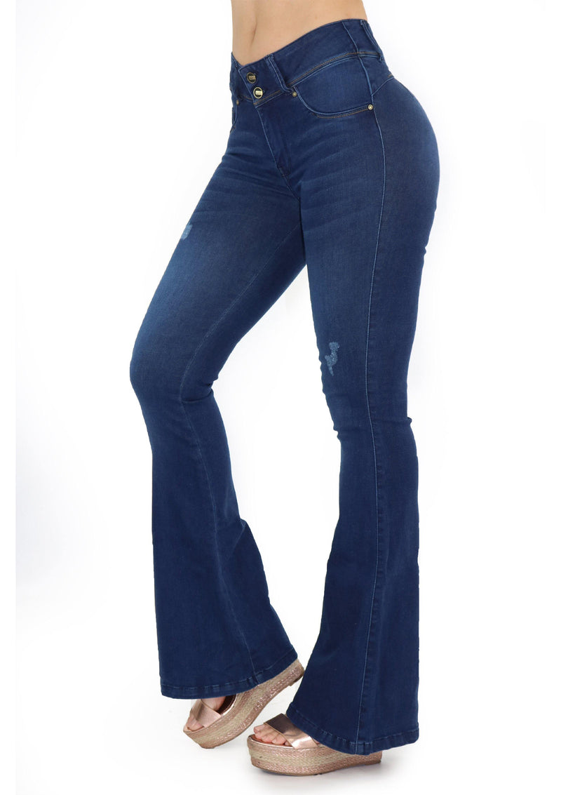 19683 Bell Bottom Jean by Maripily Rivera