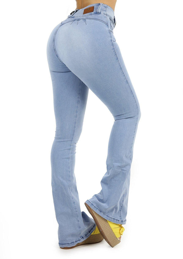 19763 Bell Bottom Jean by Maripily Rivera - Pompis Stores