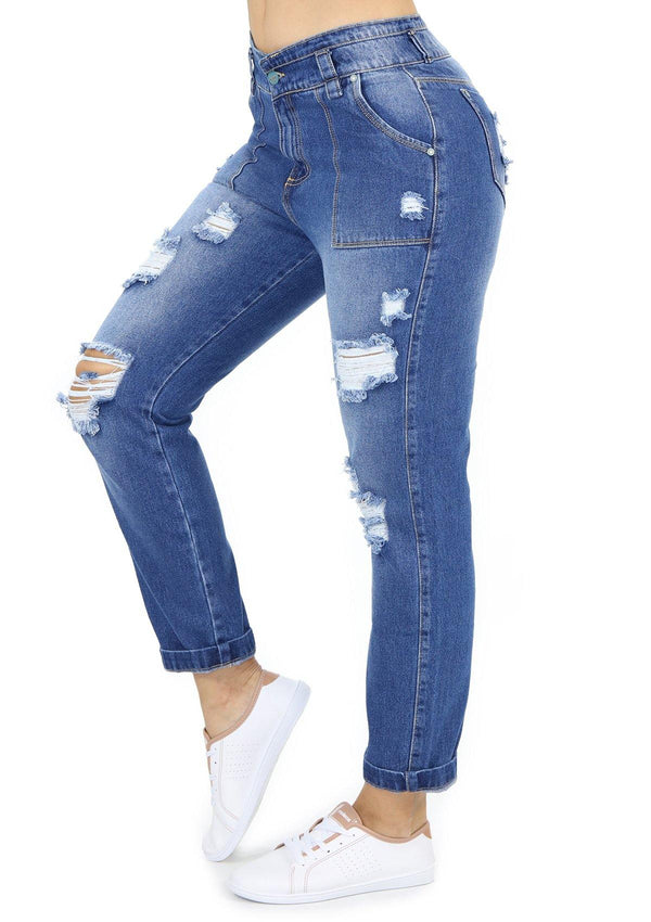 19800 Boyfriend Jean by Maripily Rivera - Pompis Stores