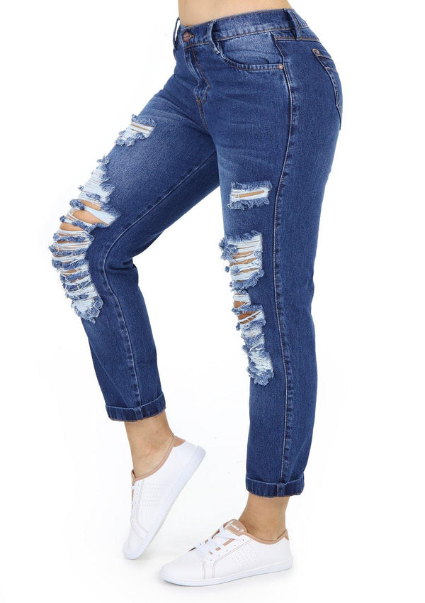 19806 Boyfriend Jean by Maripily Rivera - Pompis Stores