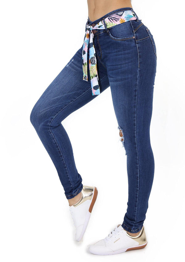 19820 Skinny Jean by Maripily Rivera - Pompis Stores
