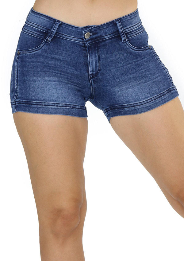 19830 Denim Short by Maripily Rivera - Pompis Stores