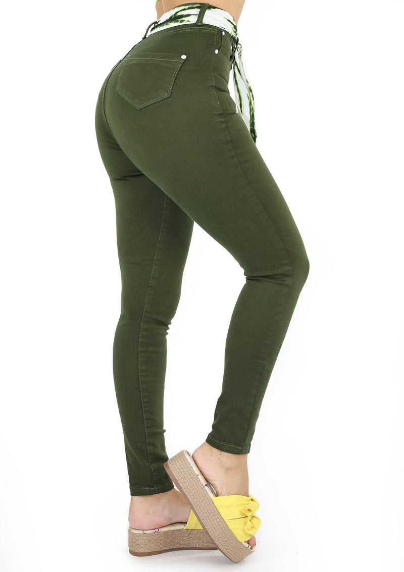 19884 Olive Skinny Jean by Maripily Rivera (Curvy High)