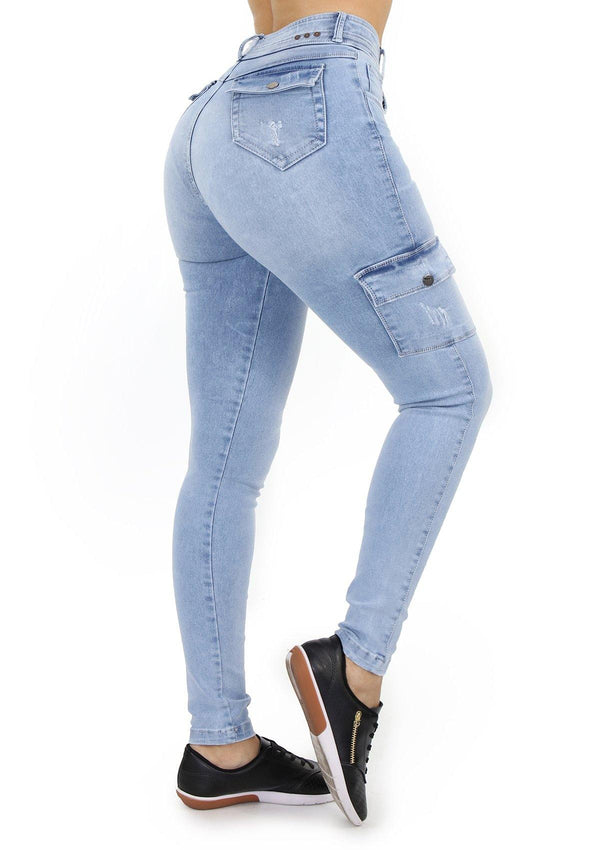 19888 Skinny Jean by Maripily Rivera (Cargo) - Pompis Stores
