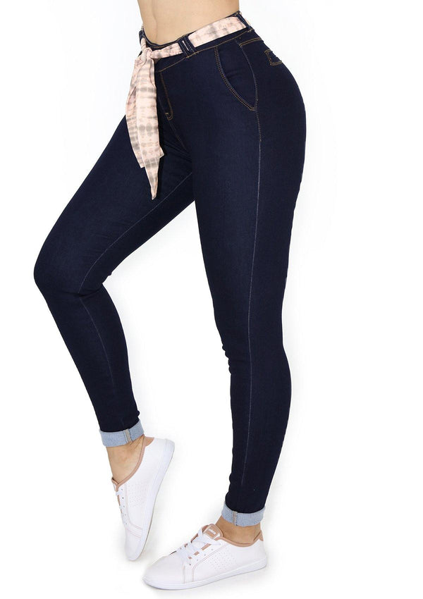 19909 Skinny Jean by Maripily Rivera (Curvy) - Pompis Stores