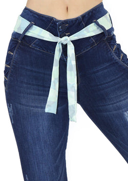 19935 Skinny Jean by Maripily Rivera (Cinturilla) - Pompis Stores