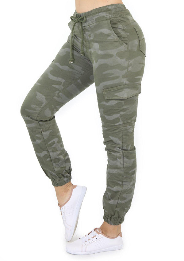 19945 Camouflage Jogger/Cargo by Maripily Rivera - Pompis Stores